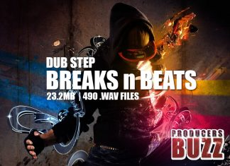 dub step breaks and beats sounds for music production