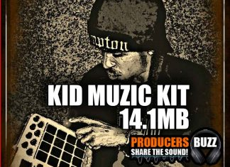 kid muzik hip hop drum sample kit