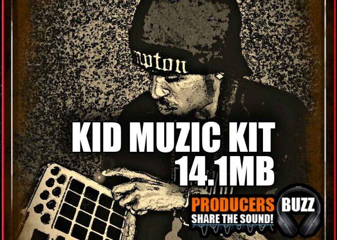 kid muzik hip hop drum sample kit