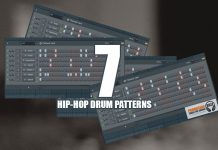 7 Cool Hip-Hop Drum Loop Patterns FL Studio Tutorial