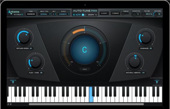 AutoTune - atares voice correction VST plugin