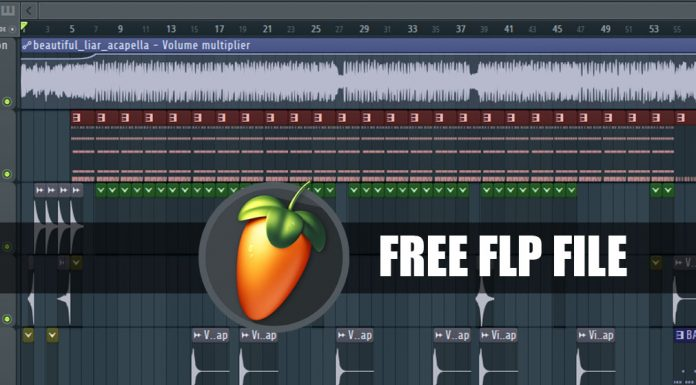 Beautiful Liar Beyonce & Shakira FL Studio Project FLP File