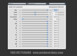 autotalent free autotune vst plugin