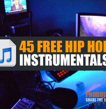 Download 45 Free Hip Hop Instrumental Beats