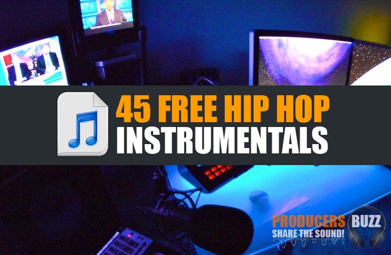 Top 45 Free Hip-Hop Instrumental Beats Free Download