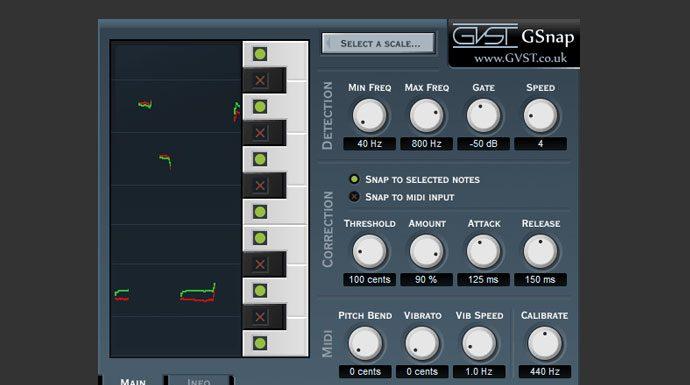 Gnap Free Auto-Tune Vocal Harmonizer VST Plugin - Producers Buzz