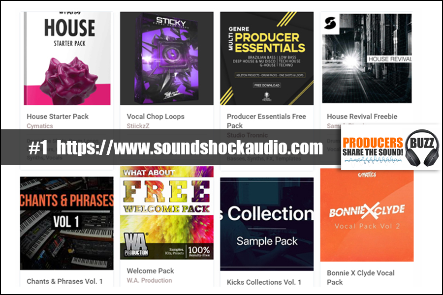 Top 3 Free Website for Free House Drum Kits, Samples & House