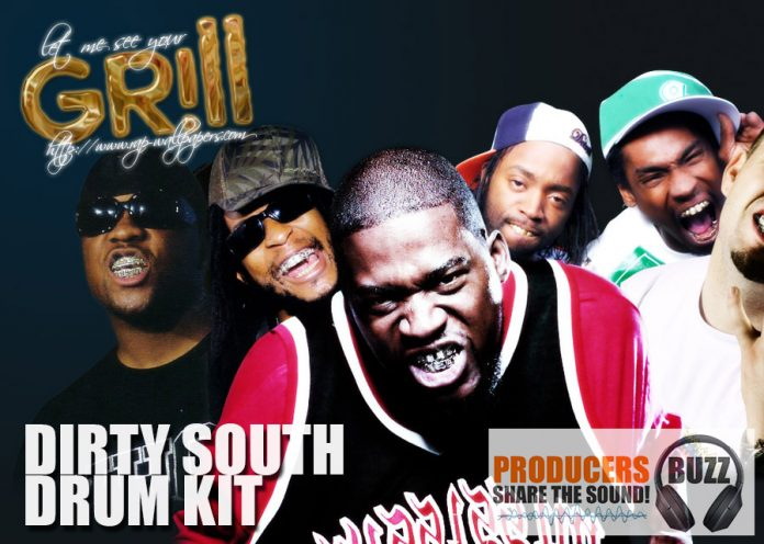 FREE Dirty South Drum Kit