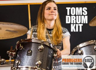 43 Toms Wav Sound Drum Kit