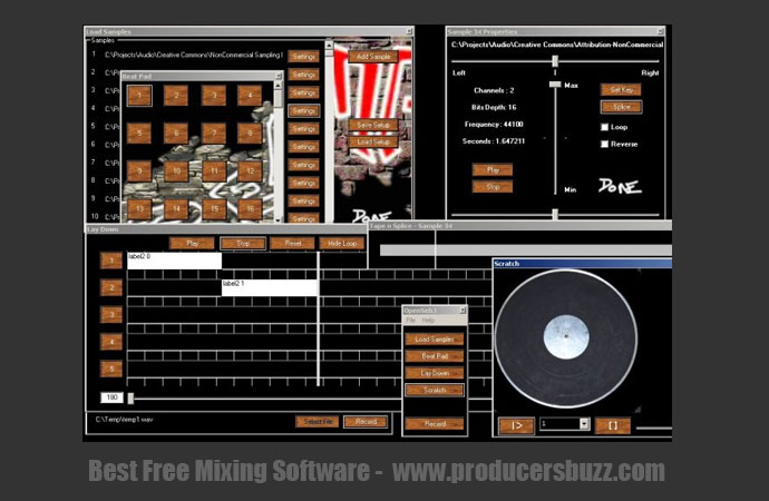 OpenSebj free mixing software