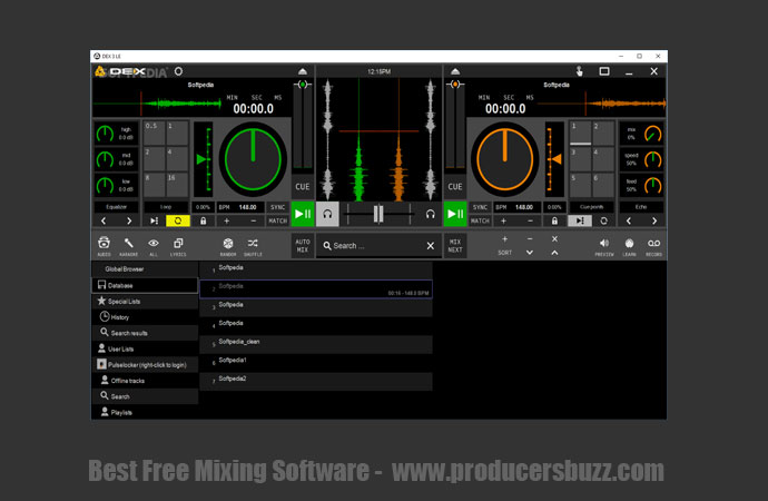 PCDJ free top dj software