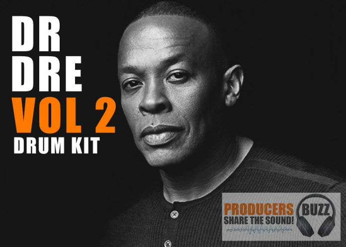 Dr Dre Vol 2 Hip-Hop Drum Kit