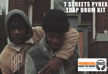 Free T-Streetz Pyrex Trap Drum Kit