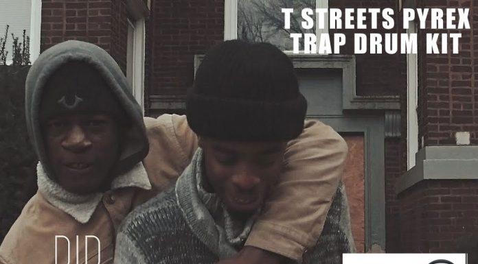 Free T-Streetz Pyrex Trap Drum Kit