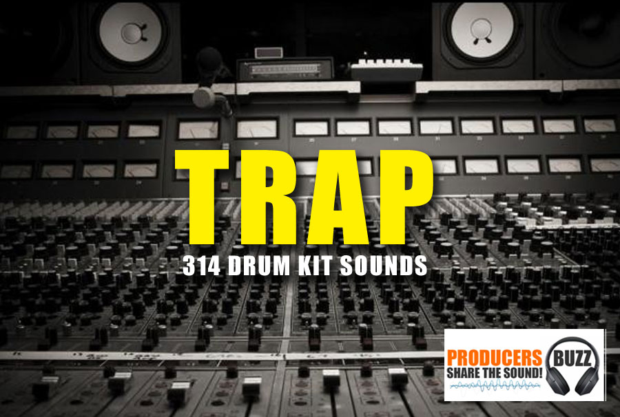 The Trap Music Drum Kit - Free Trap Drum Kit - Producers Buzz