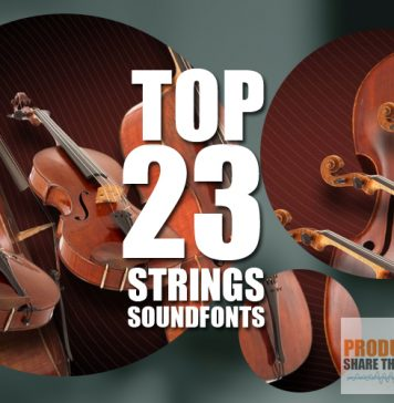 Top 23 Free Strings Soundfonts
