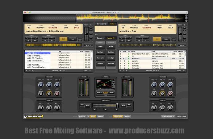 Ultramixe - Best Free Mixing Software