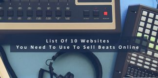 List Of 10 Websites You Need To Use To Sell Beats Online