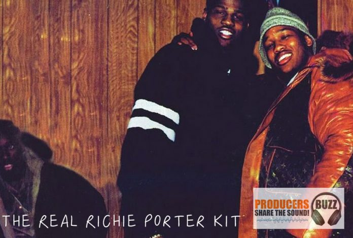 The Real Richie Porter FREE Hip-Hop Drum Kit