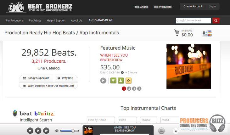 beatbrokerz top beat selling websites