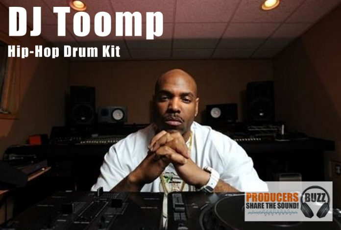 DJ Toomp FREE Hip-Hop & Trap Drum Kit