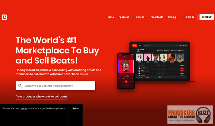 Sell beats on beatstars