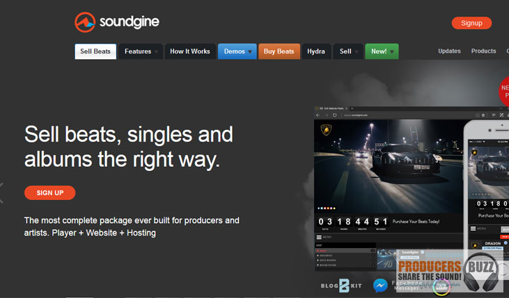 Soundgine - Top 5 Websites in 2019 To Sell Beats Online