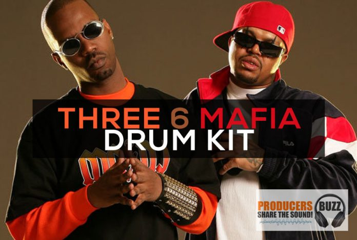 Three 6 Mafia Free Hip-Hop Sound Drum Kit