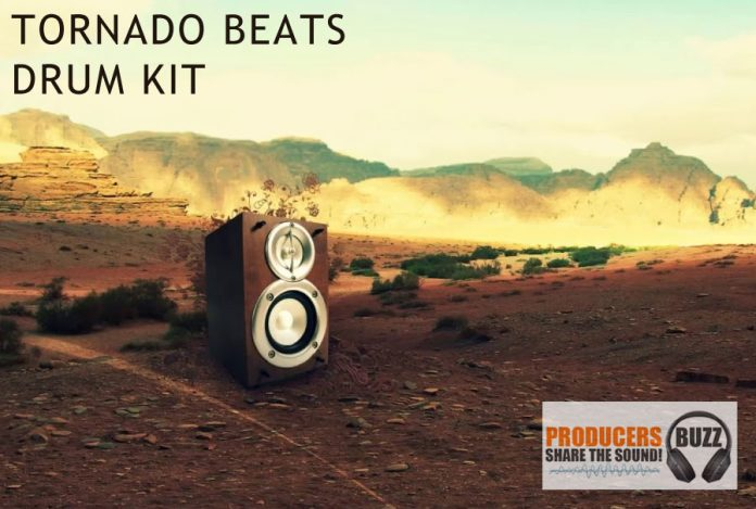 Tornado Beatz Free Hip-Hop Drum Sample Kit
