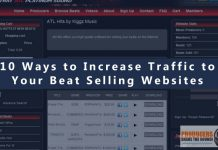 10 ways to increase traffic to your beat selling website