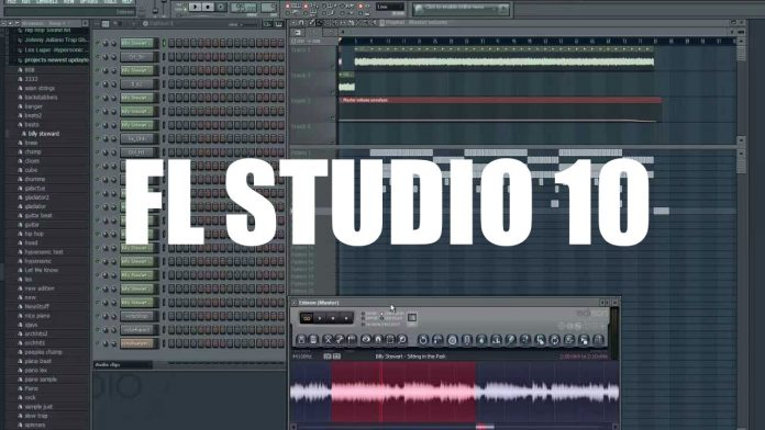 Download FULL Version of FL STUDIO 10