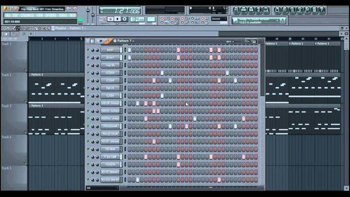Hip Hop Beat 001 - FL Studio Project