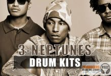 Download 3 Free Neptunes Drum Kits