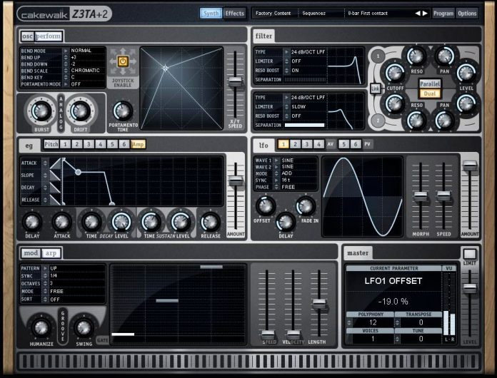 Z3ta VST - Z3ta+ 2 Free Download - Producers Buzz