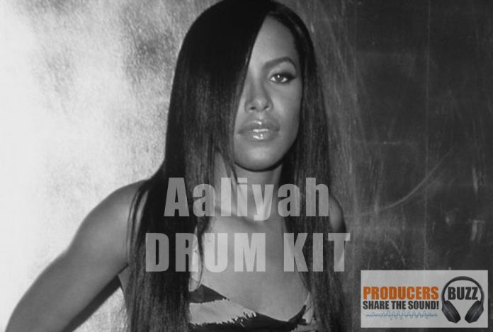 Free Aaliyah Drum Inspired by Timbaland Drum Kit
