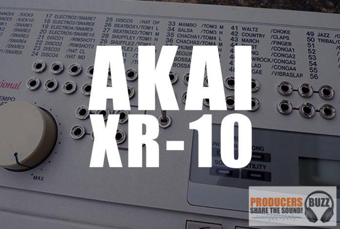 Akai XR-10 Drum Samples KIT