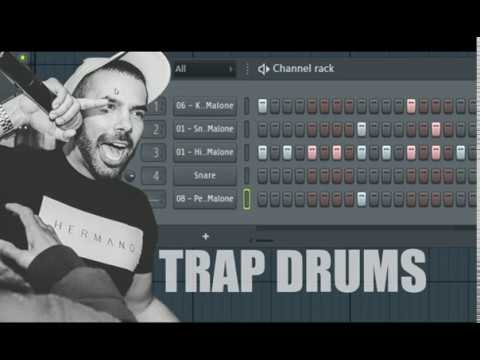 Hip Hop & Trap Drum Patterns in FL Studio For Beginners