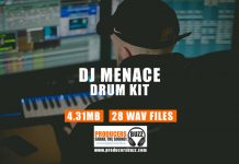 DJ Menace Hip-Hop Drum Kit
