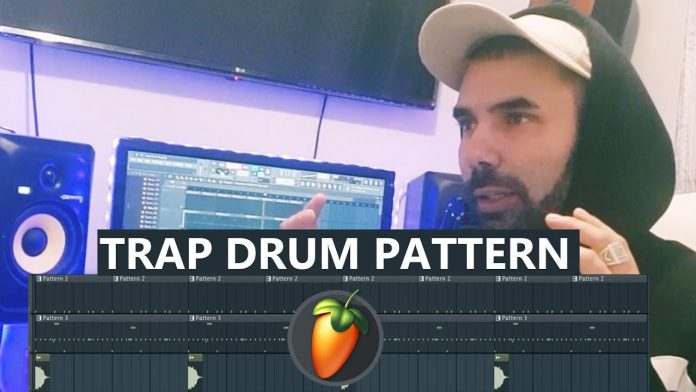 Trap Drum Pattern in FL Studio - Tutorial