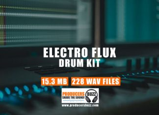 Electro Flux Sound Drum Kit