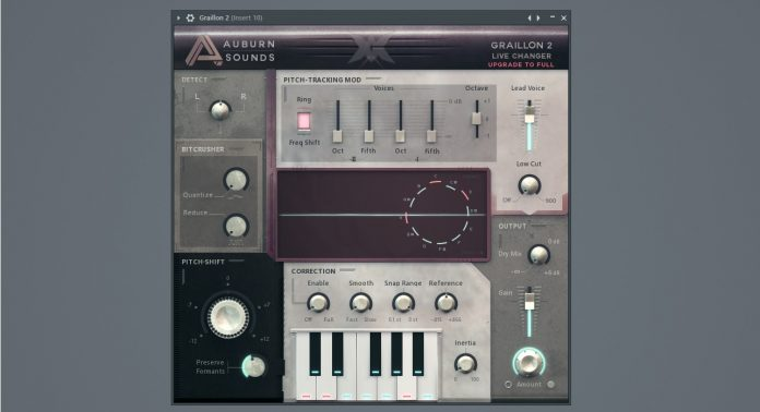 Graillon 2 VST Plugin   Vocal Pitch Correction - Free Download