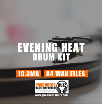 Evening Heat R&B Drum Kit