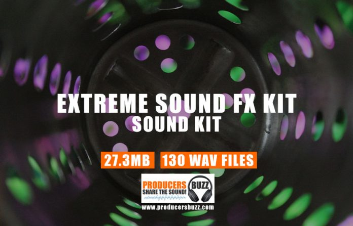 Extreme Free Sound Effects Drum Kit