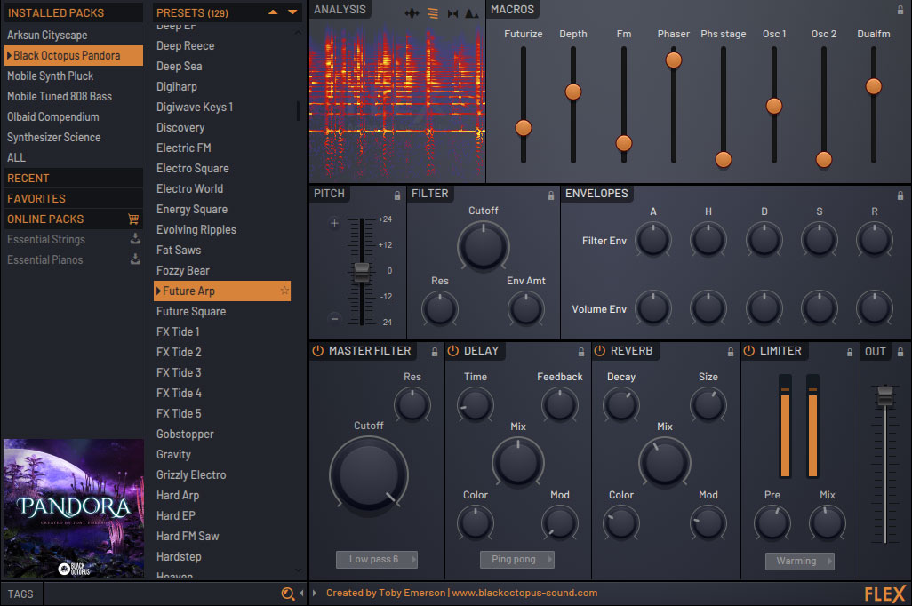 Features of Flex VST plugin