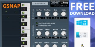 GSnap VST Plugin