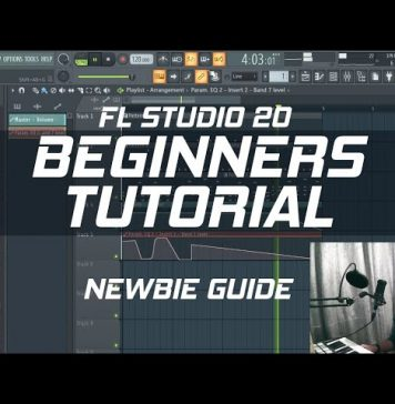 FL Studio 20 - Getting Started Step by Step Beginners Guide