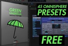 "45 Free Omnisphere Preset Banks ""Green Umbrella"""