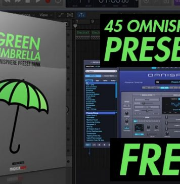 "45 Free Omnisphere Preset Banks ""Green Umbrella"""