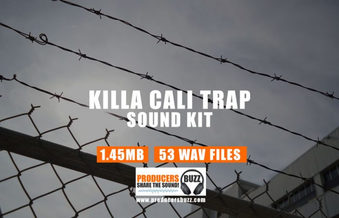 Killa Cali Drum Sample Pack | Hip-Hop Drum Samples