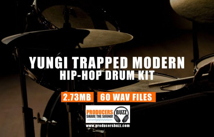 Yungi Trapped Modern Hip-Hop & Trap Drum Samples